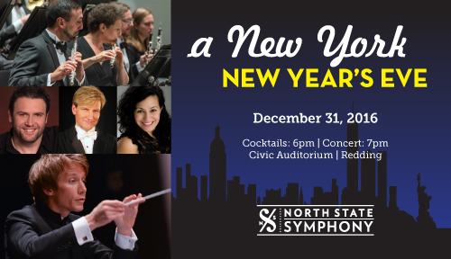 A New York New Year's Eve @ Redding Civic Auditorium | Redding | California | United States