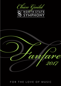 "Fanfare ""For the Love of Music"" @ Butte Creek Country Club 