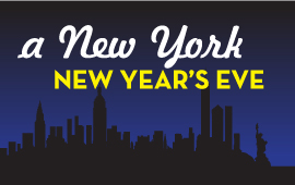Ten Reasons to Spend New Year's Eve With Us!