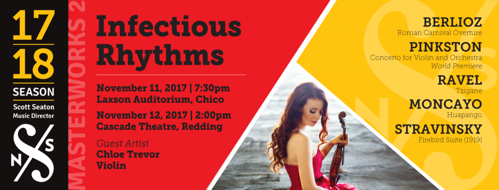 Pre-Concert Talk: Infectious Rhythms @ Laxson Auditorium | Chico | California | United States
