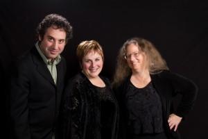 John Chernoff, Carol Jacobson, and Terrie Baune