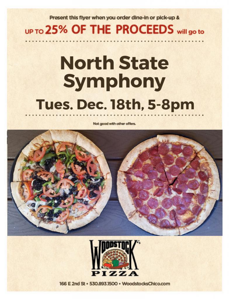 Fundraiser Night @ Woodstock's Pizza | Chico | California | United States